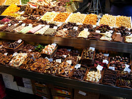 Chocolate in Barcelona by MarieAndersson