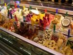 Fancy ice cream in Barcelona