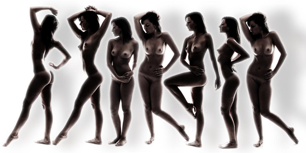 Nude Collage by GeheimnisBild