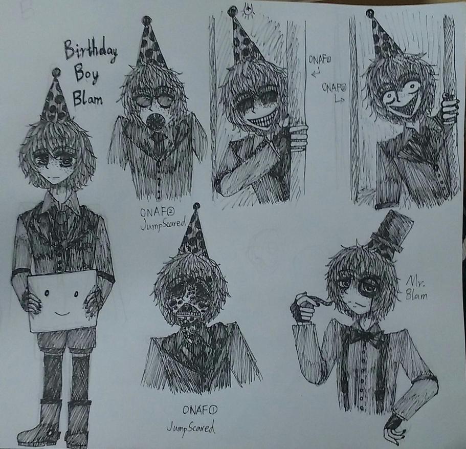 Human! Birthday Boy Blam by BeverageLassieLaddie