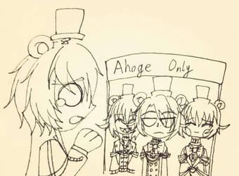 Ahoge Only by BeverageLassieLaddie