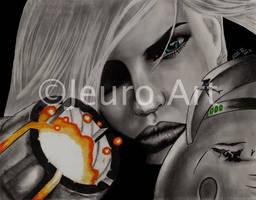 Samus Aran by JEURO85
