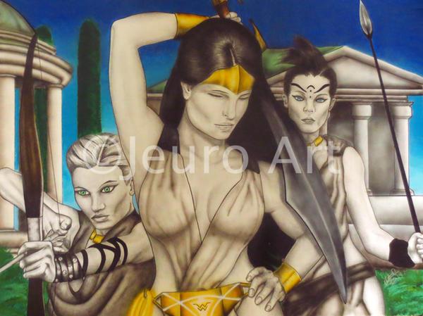 Themiscyra: Wonder Woman by JEURO85