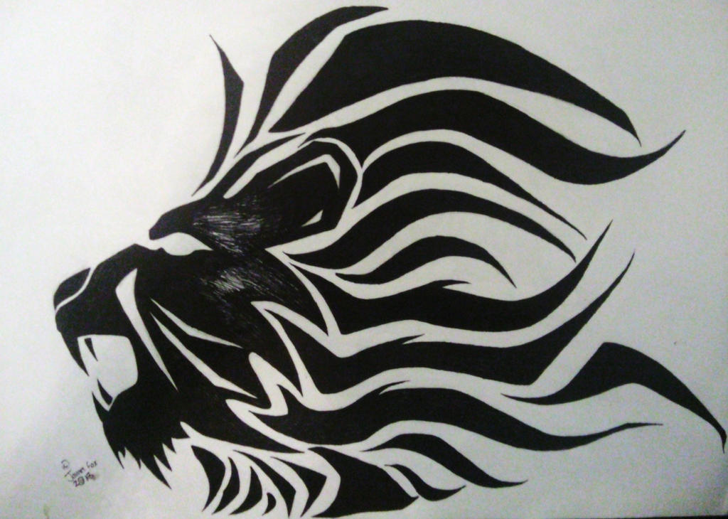 Image Gallery lion art designs