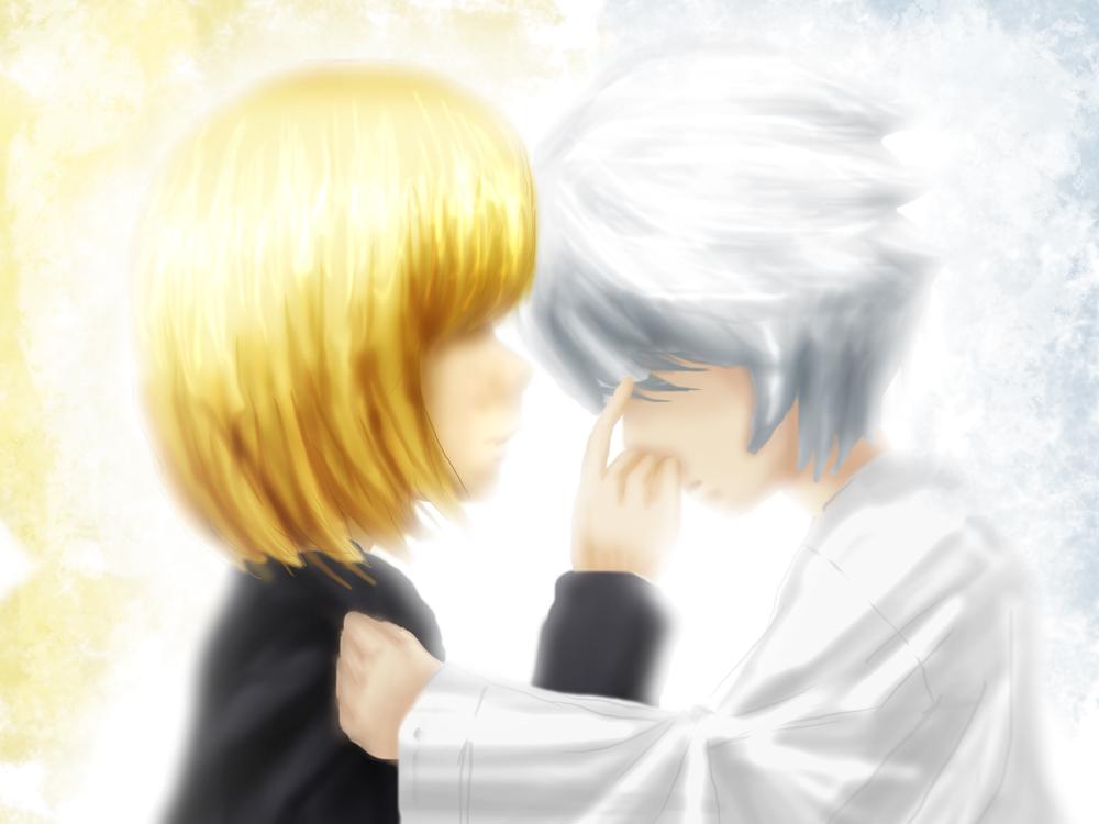 Death Note : Mello x Near by Chibionpu