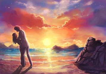 Mesmerizing Sky by Chibionpu