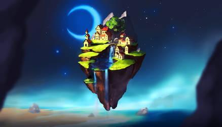 Dream Island by Chibionpu
