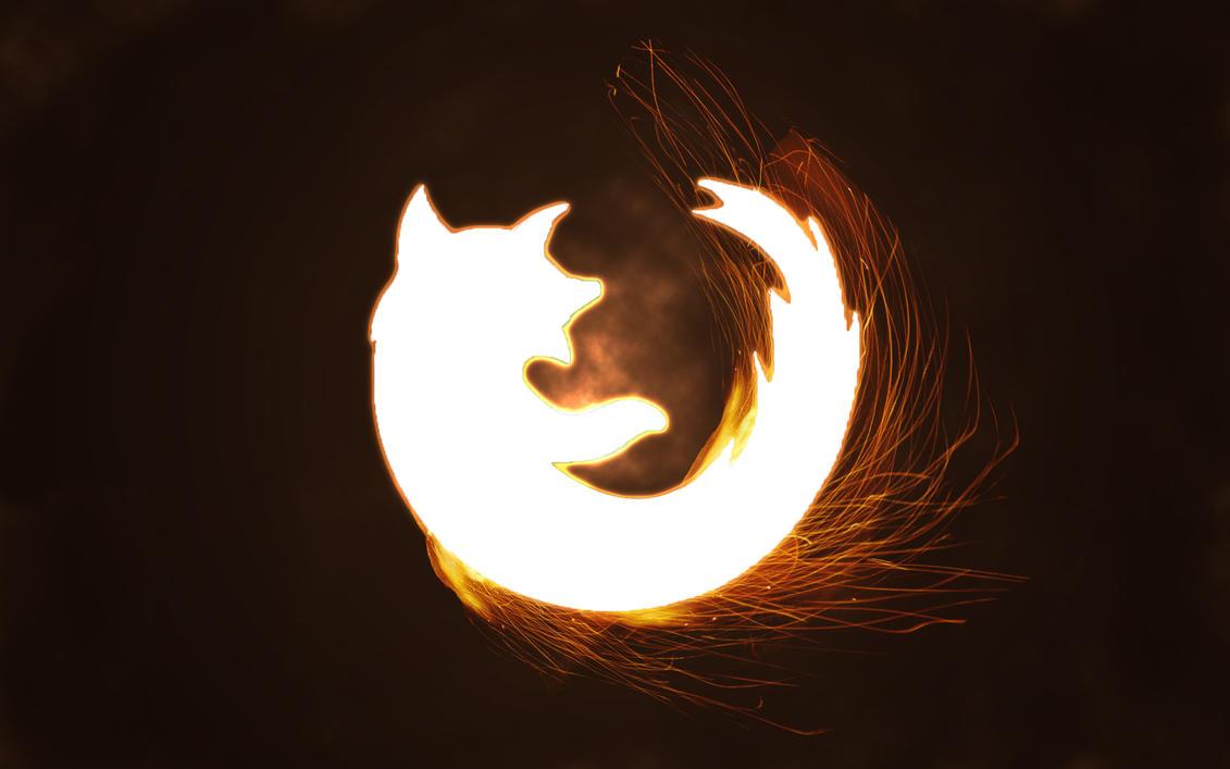 Firefox wallpaper by WhiteFandango