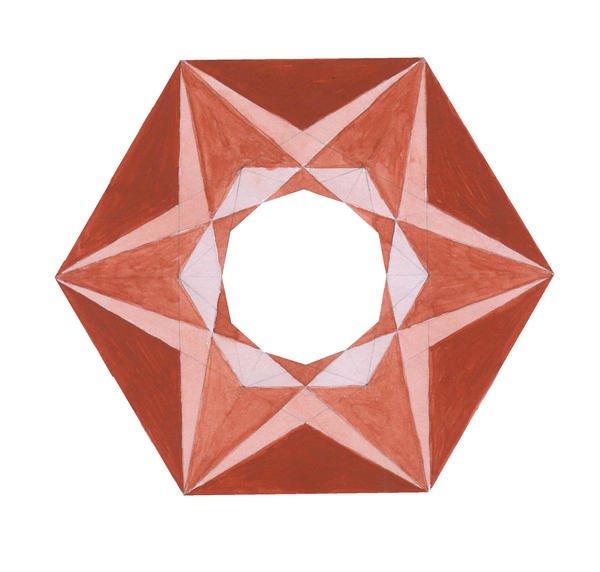 how to draw a metatron cube