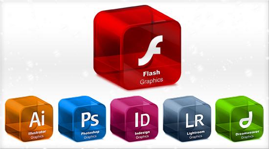 Free Adobe Graphic Icons