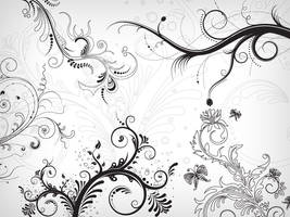 5 Floral Decorative Ornaments by Design-Maker