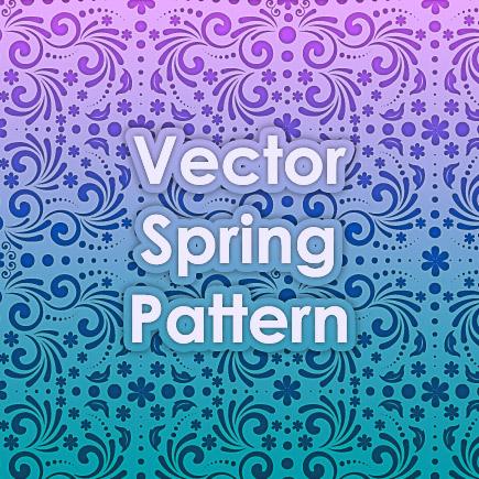 Vector Spring Pattern by Design-Maker