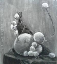 Drawing I Still Life: Styroballs