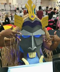 Kida Atlantis Mask when Lit up