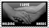 STAMP: Holding hands love by Mamoru-sama