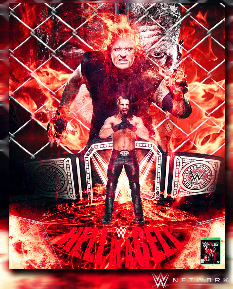 Hell In A Cell 2015 Poster by ZyadSkylar