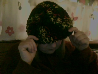 Crochet hat 1B by Green-Teresa