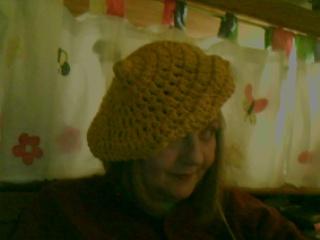 Crochet hat 4B by Green-Teresa
