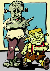 Frankensteiner Bros.