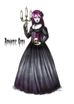 Goth stereotype #3: Romantic Goth