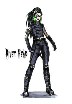 Goth stereotype #7: Rivet Head