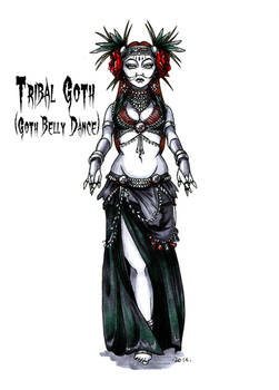 Goth stereotype #10: Tribal Goth
