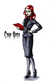 Goth stereotype #12: Corp Goth
