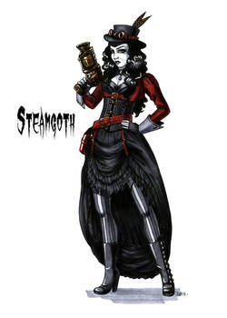 Goth stereotype #16: Steamgoth