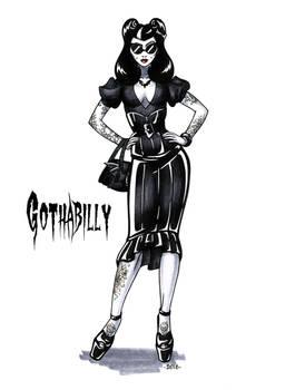 Goth stereotype #17: Gothabilly