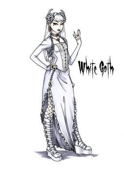 Goth stereotype #20: White Goth