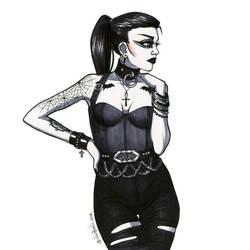 Postpunk girl