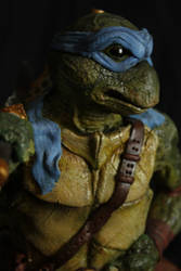 NINJA TURTLE, Leonardo sculpture. by Mixta110