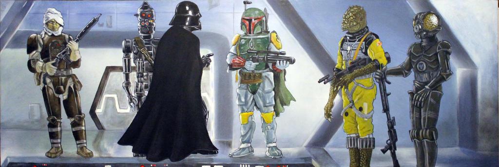 Star Wars.. No dissintigrations! by Mixta110