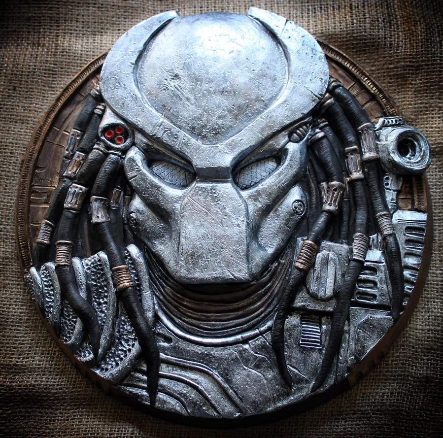 Predator Head sculpture. by Mixta110