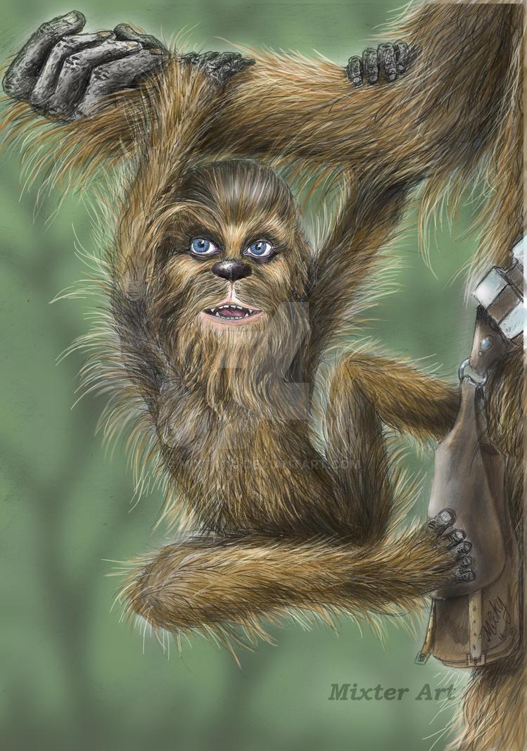 Wookiee baby by Mixta110