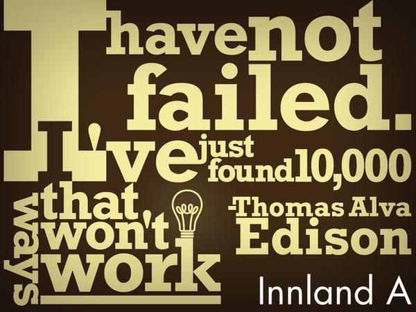 Thomas Alva Edison quote by Vilvitalt
