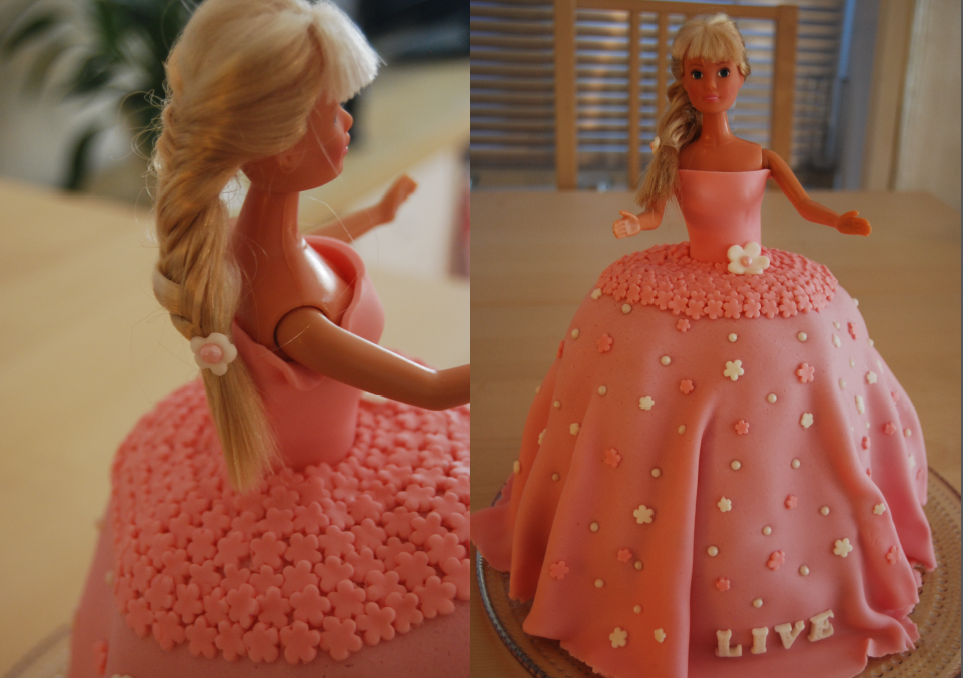 Download Barbie Cake Images : Barbie cake by Vilvitalt on DeviantArt