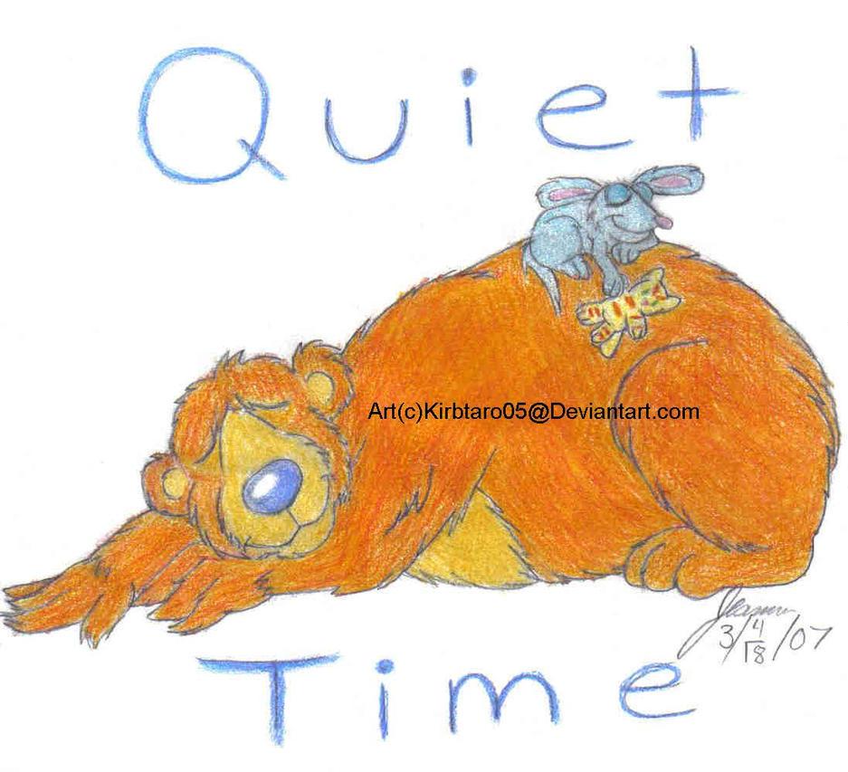 quiet time by kirbtaro05 on deviantart