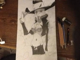 Blair the Cat from Soul Eater ((Drawn)) by chrispwnz95