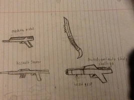 Some Free Handed Weapons by chrispwnz95