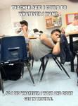 Coolest teacher Meme by chrispwnz95