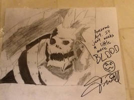SIGNED BY THE VOICE ACTOR! by chrispwnz95