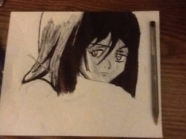 Mikasa from SnK/AoT (pen) by chrispwnz95