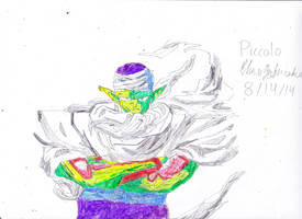 Piccolo (with color) by chrispwnz95