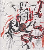Vasto Lorde Ichigo (drawn+color) by chrispwnz95