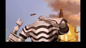 Super Giant Mecha Suit Hyper-Force Facepalm! by chrispwnz95