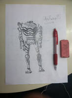 Legend of Korra Mecha Giant (drawing) by chrispwnz95