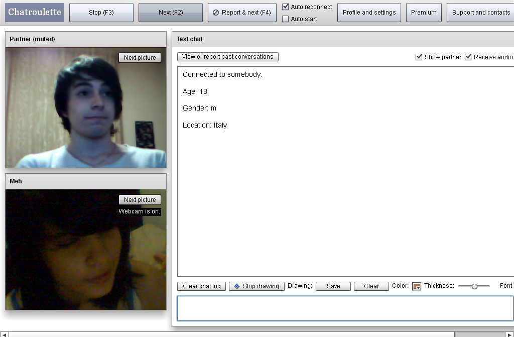 chat roulette sexy