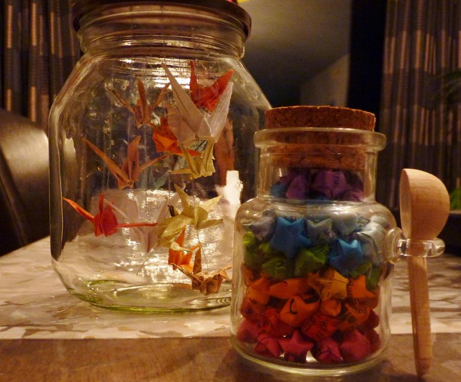 how to put essentia in jars