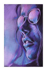 Purple summer by WhimsicalChiko